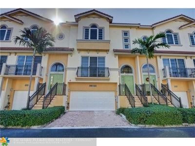 Oakland Park Condo/Townhouse For Sale: 1932 Coral Heights Ct #304