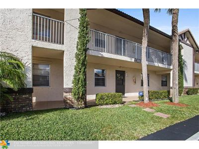 Coral Springs Condo/Townhouse For Sale: 2391 NW 89th Dr #404