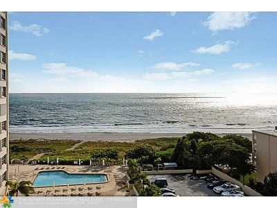 Lauderdale By The Sea Condo/Townhouse For Sale: 1900 S Ocean Bl #7T