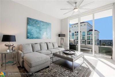 Fort Lauderdale Condo/Townhouse For Sale: 610 W Las Olas Blvd #2116