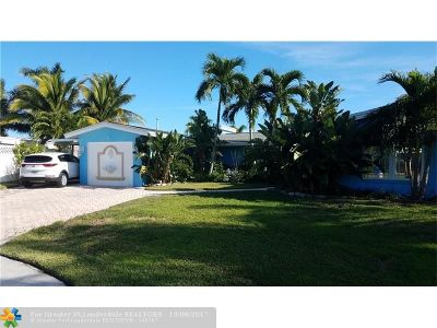Pompano Beach Single Family Home For Sale: 180 SE 13th St
