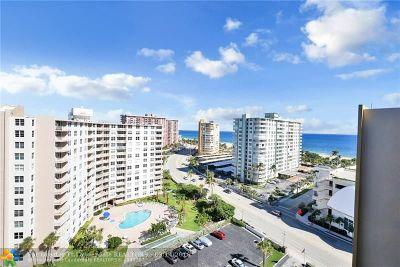 Pompano Beach Condo/Townhouse For Sale: 201 N Ocean Blvd #PH 2