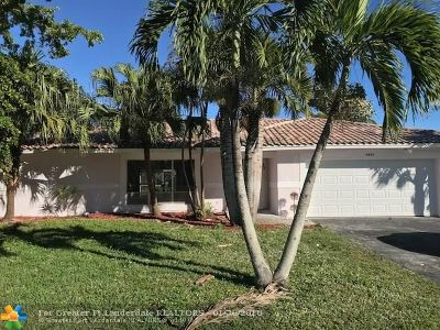 Coral Springs FL Single Family Home For Sale: $399,000