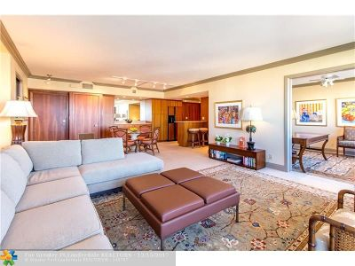 Fort Lauderdale Condo/Townhouse For Sale: 3233 NE 34th St #1408