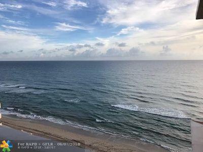 Highland Beach Condo/Townhouse For Sale: 4511 S Ocean Blvd #806