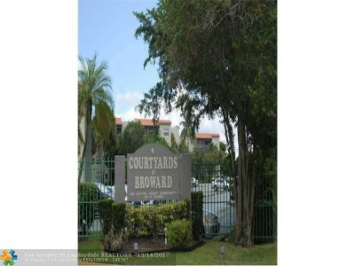 North Lauderdale Condo/Townhouse For Sale: 1820 SW 81 Ave #3200