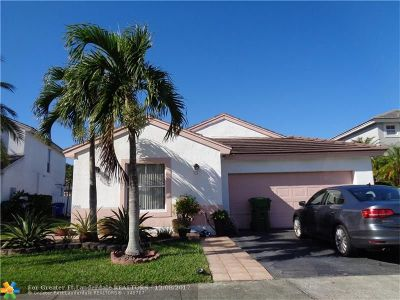 Pembroke Pines Single Family Home For Sale: 2080 NW 185th Way