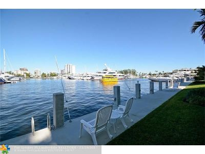 Fort Lauderdale Condo/Townhouse For Sale: 3025 Harbor Dr #21