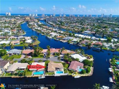 Pompano Beach Single Family Home For Sale: 741 SE 6th Ter