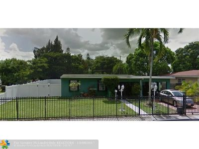 Miami Gardens Single Family Home For Sale: 15930 NW 22nd Ave