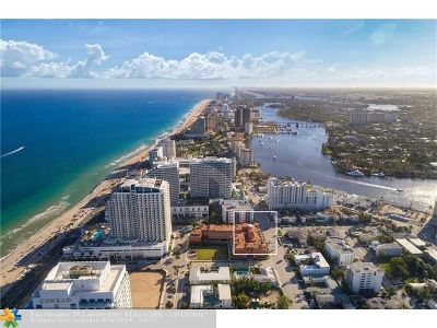 Fort Lauderdale Condo/Townhouse For Sale: 502 N Birch Rd #502