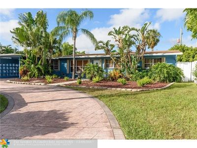 Wilton Manors Single Family Home For Sale: 317 NW 30th Ct