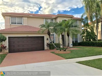 Miramar Single Family Home For Sale: 2326 SW 183rd Ter