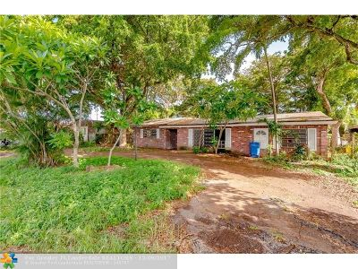 Broward County Single Family Home For Sale: 80 NW 34th St