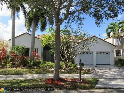 Broward County Single Family Home For Sale: 854 Heritage Dr