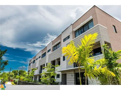 Fort Lauderdale Condo/Townhouse For Sale: 825 NE 17th Ter #1