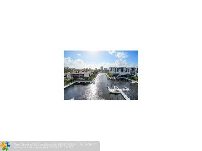 Fort Lauderdale Condo/Townhouse For Sale: 3200 N Port Royale #801