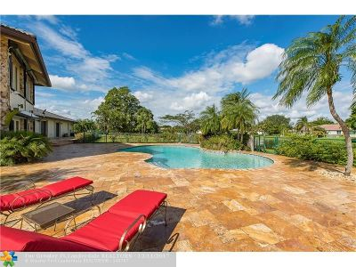 Coral Springs FL Single Family Home For Sale: $1,100,000