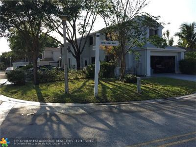 Coconut Creek Single Family Home For Sale: 2001 NW 38th Ave