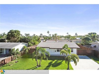 Pompano Beach Single Family Home Backup Contract-Call LA: 2670 NE 21st St