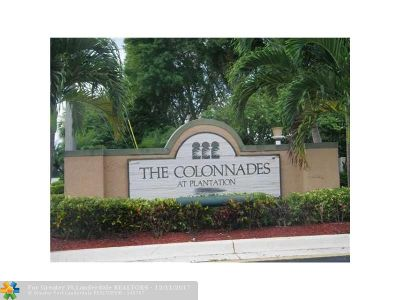 Plantation Condo/Townhouse For Sale: 820 NW 91st Ter #820