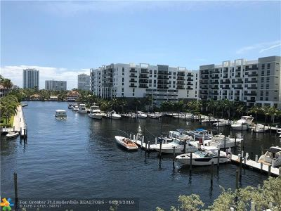 Fort Lauderdale Condo/Townhouse For Sale: 3200 N Port Royale Dr N #412