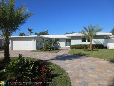 Lauderdale By The Sea Single Family Home For Sale: 2025 Sailfish Place