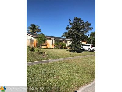 Lauderdale Lakes Single Family Home For Sale: 3517 NW 36th Ter