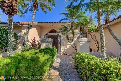 Boca Raton Single Family Home For Sale: 10767 Boca Woods Ln