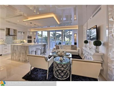 Fort Lauderdale Condo/Townhouse For Sale: 3100 N Ocean Blvd #302