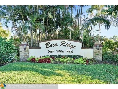 Boca Raton Condo/Townhouse For Sale: 9344 Ketay Cir #3