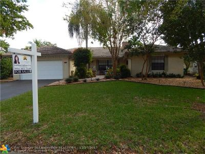 Coral Springs Single Family Home For Sale: 10864 NW 17th Pl