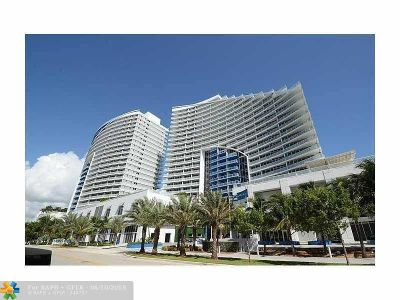 Fort Lauderdale Condo/Townhouse For Sale: 3101 Bayshore Dr #2406