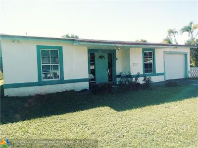 North Lauderdale Single Family Home For Sale: 6250 SW 8th Ct
