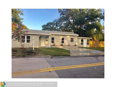 Fort Lauderdale Single Family Home For Sale: 520 SW 12th Street
