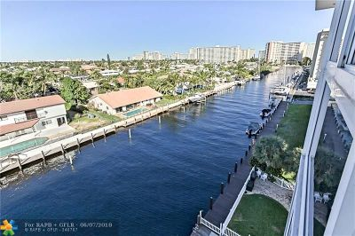 Fort Lauderdale Condo/Townhouse For Sale: 2829 NE 33rd Ct #607