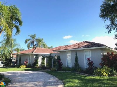 Coral Springs Single Family Home For Sale: 299 NW 91st Ave