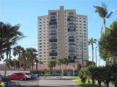 Pompano Beach Condo/Townhouse For Sale: 1200 Hibiscus Ave #1003