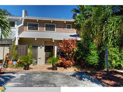 Fort Lauderdale Condo/Townhouse For Sale: 1265 SE 2nd Ct #1265