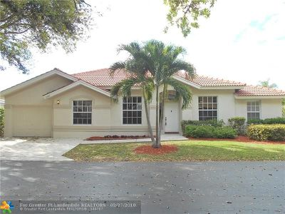 Broward County Single Family Home For Sale: 3587 Dunes Vista Dr