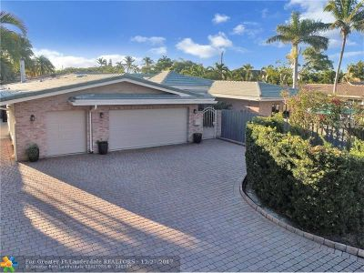 Fort Lauderdale FL Single Family Home For Sale: $830,000