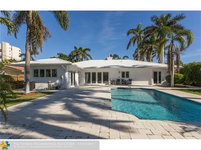 Fort Lauderdale Single Family Home For Sale: 4761 Bayview Dr