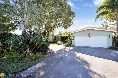 Fort Lauderdale FL Single Family Home For Sale: $725,000