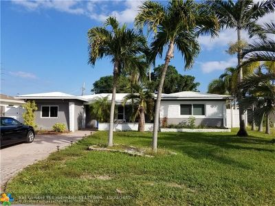 Pompano Beach Single Family Home For Sale: 1506 SW 3rd Ave