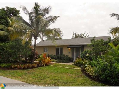 Wilton Manors Single Family Home For Sale: 2730 NE 6th Ln