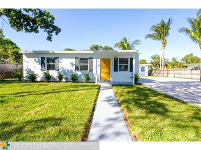 Fort Lauderdale Single Family Home For Sale: 1513 NW 5th Avenue