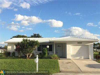 Plantation Single Family Home For Sale: 8808 NW 15th St