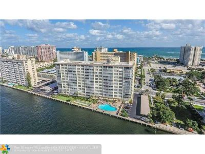 Pompano Beach Condo/Townhouse For Sale: 299 N Riverside Dr #307