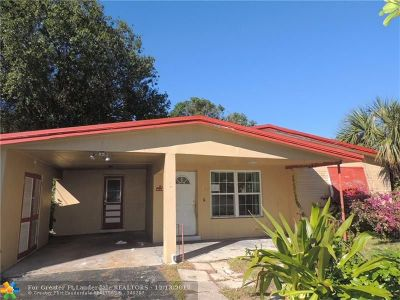 Lauderhill Single Family Home For Sale: 3501 NW 9th Ct