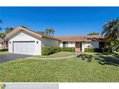 Margate Single Family Home For Sale: 5517 SW 8th Pl